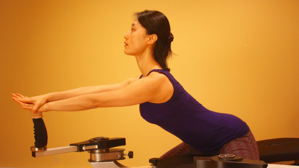 Kyung-sun Gyrotonic Exercise - healthy circuclar back movement